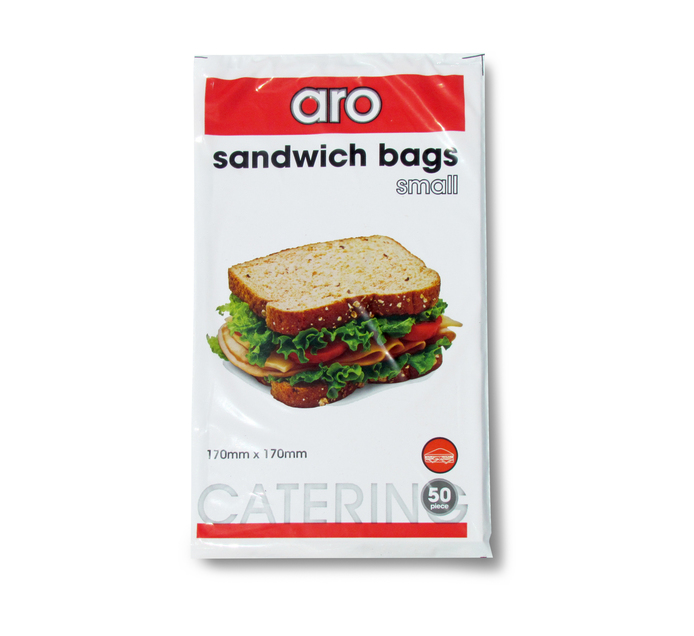 ARO Sandwich Bags Small (1 x 50's)