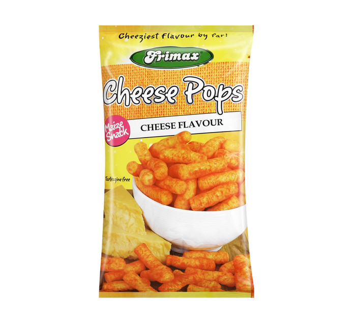 FRIMAX Pops Maize Snacks Cheese (1  x  100g)