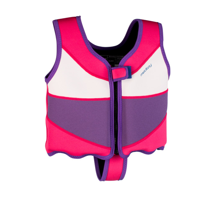 MEDLEY FLOAT VEST 6 YEARS PINK