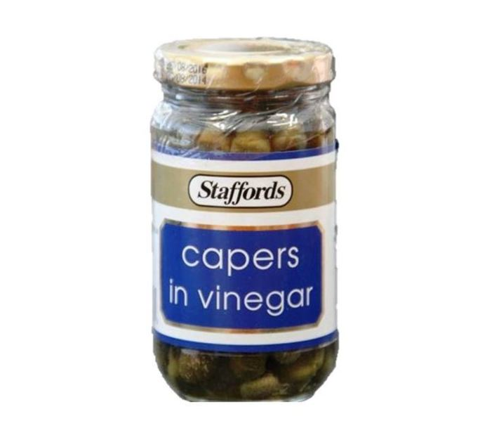 STAFFORDS Capers in Vinegar (1 x 130g)