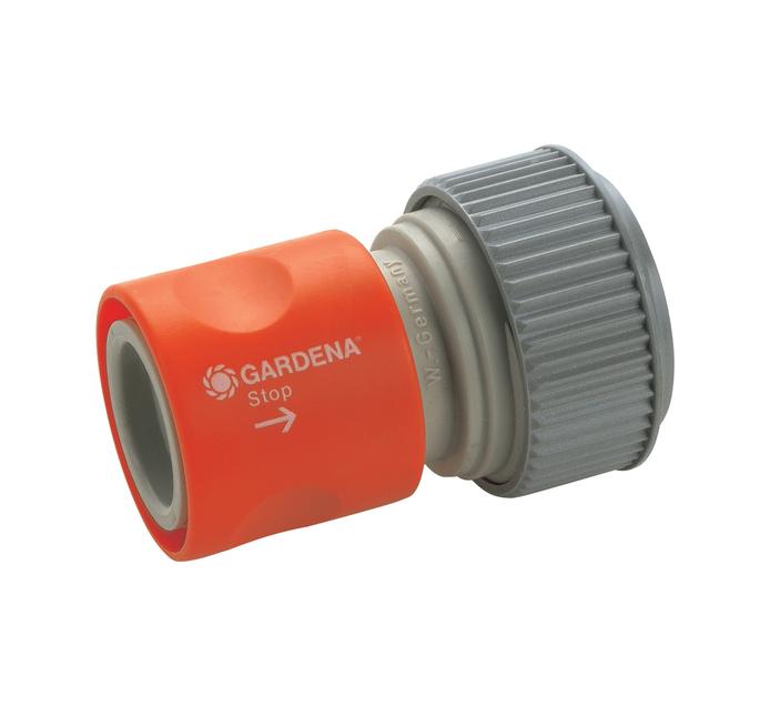 GARDENA 19mm x 16mm Water Stop Connector