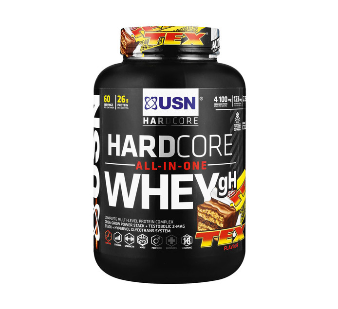 USN 2 kg Hardcore Whey Tex