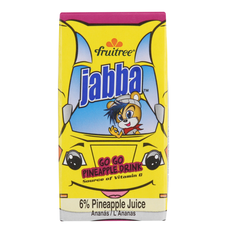 Fruitree Jabba Juice Pineapple (24 x 160ml)