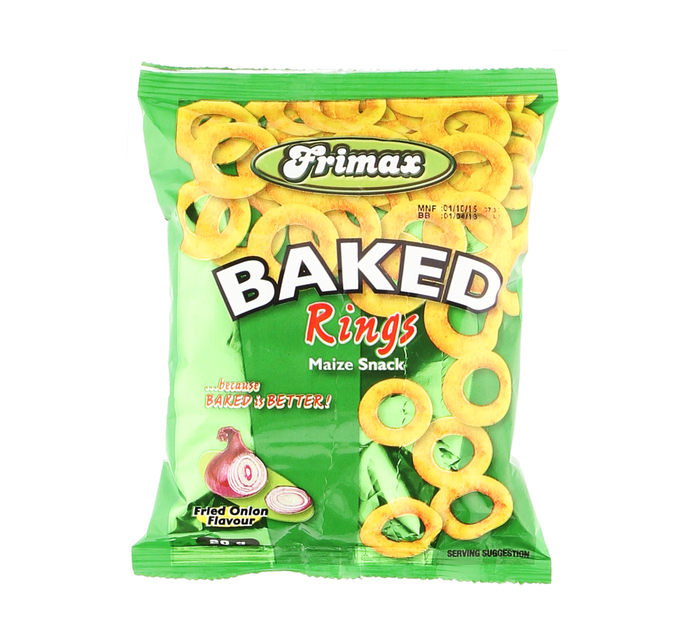 FRIMAX Baked Onion Rings (50 x 20g)