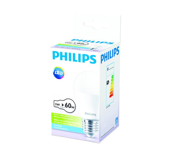 PHILIPS LED 5W A60 ES CW