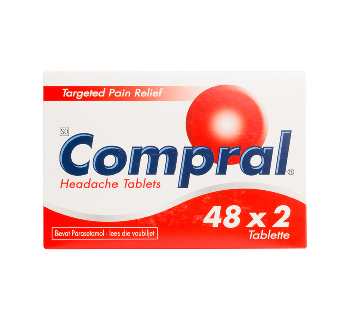 COMPRAL Tablets Dispensers (48 x 2's)