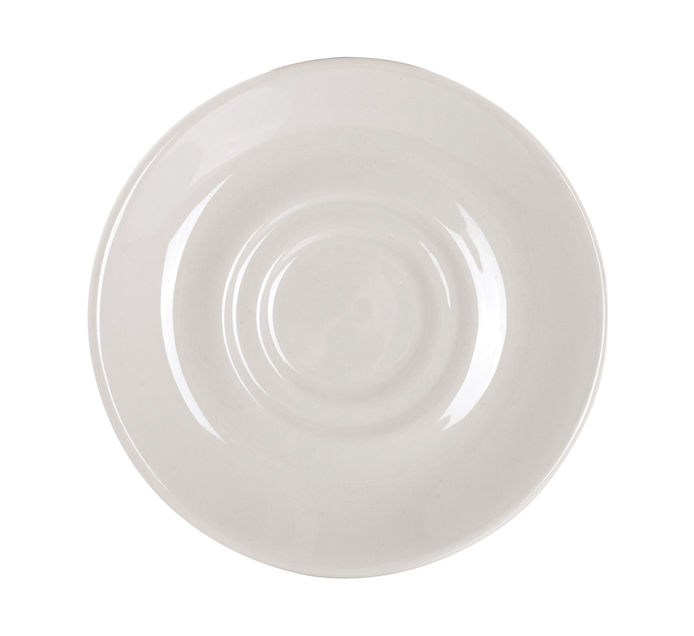 CONTINENTAL CROCKERY 6 Pack Double Well Saucer