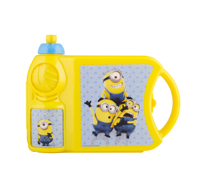 MINIONS Lunch box and bottle set