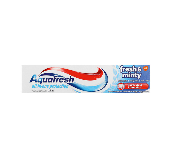 AQUAFRESH Blue Toothpaste (1 x 125ml)