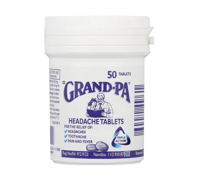 GRANDPA Headache Tablets (1 x 50's)