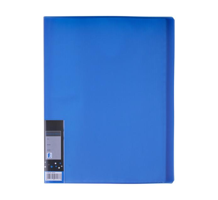 KENZEL A4 A4 Display Book 20 Pocket Blue