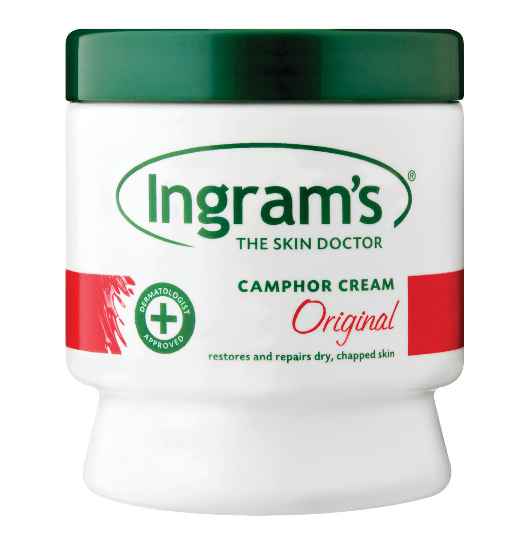 Ingrams Camphor Cream Regular (6 x 75G)