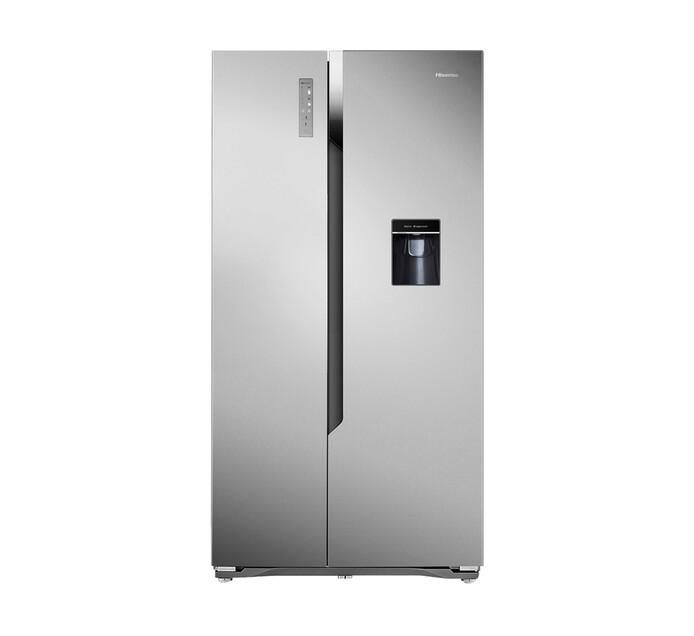 HISENSE 514 l Side-by-Side Fridge/Freezer with Water Dispenser