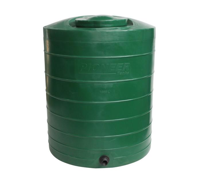 PIONEER PLASTICS 1000L WATER TANK GREEN