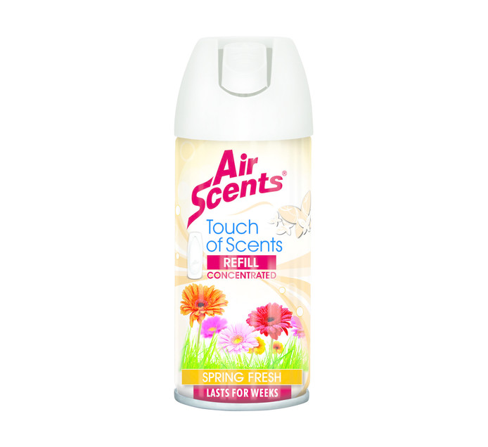 AIR SCENTS 100ml Touch Of Scents Push Dispenser Refill