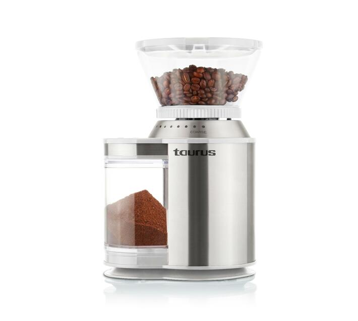 """Coffee Grinder Stainless Steel Brushed 16Cup 150W """"Molinet De Cafe"""""""