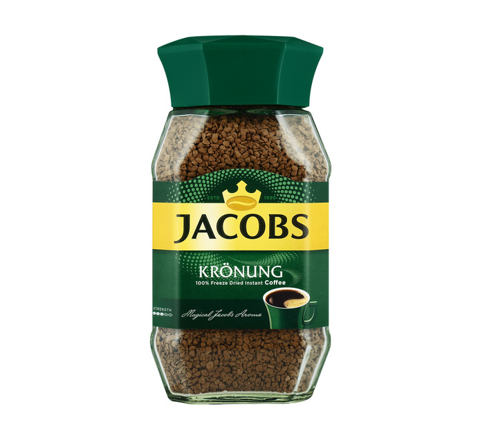 JACOBS Kronung Instant Coffee (1  x 200g)