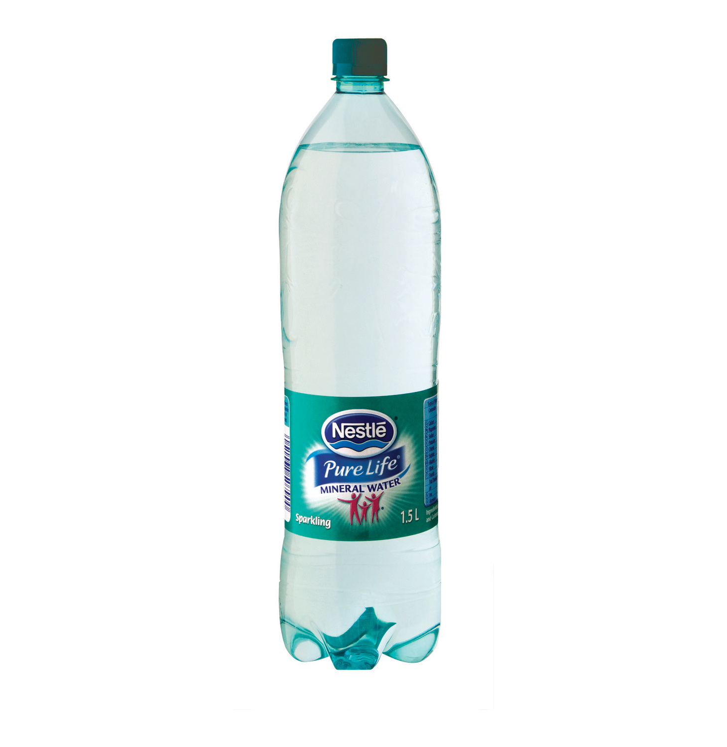 NESTLE Pure Life Mineral Water Sparkling (6 x 1.5L)