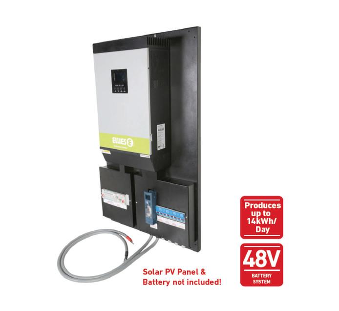 ELLIES 4000 W Solar Inverter On/Off-Grid Kit