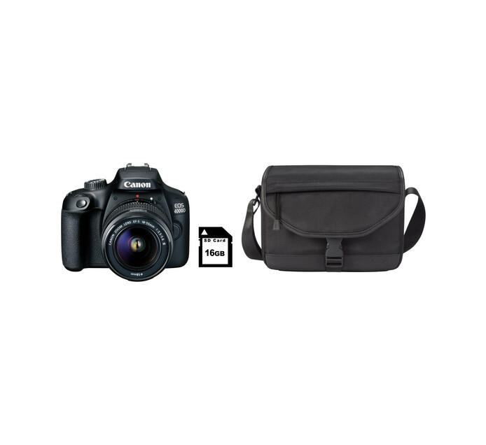 CANON 4000D DSLR Starter Camera Bundle