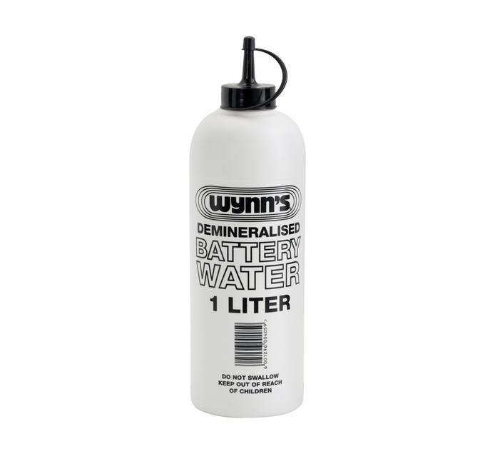 WYNNS 1l Battery Water Demineralised