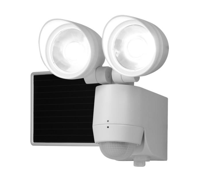 EATON Twin Solar LED Motion Day Night Sensor Floodlight