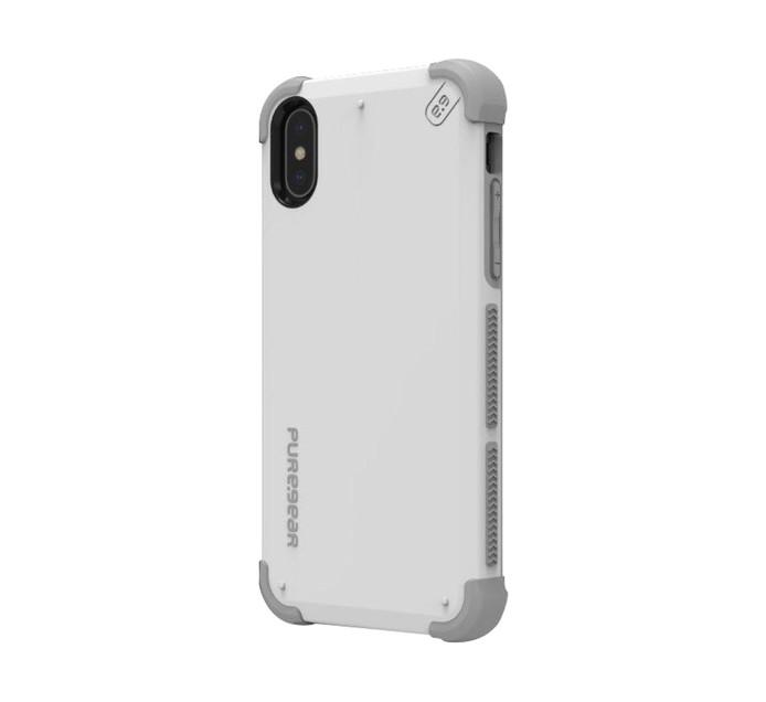 PUREGEAR Dualtek Cover for iPhone X Arctic White 62067PG