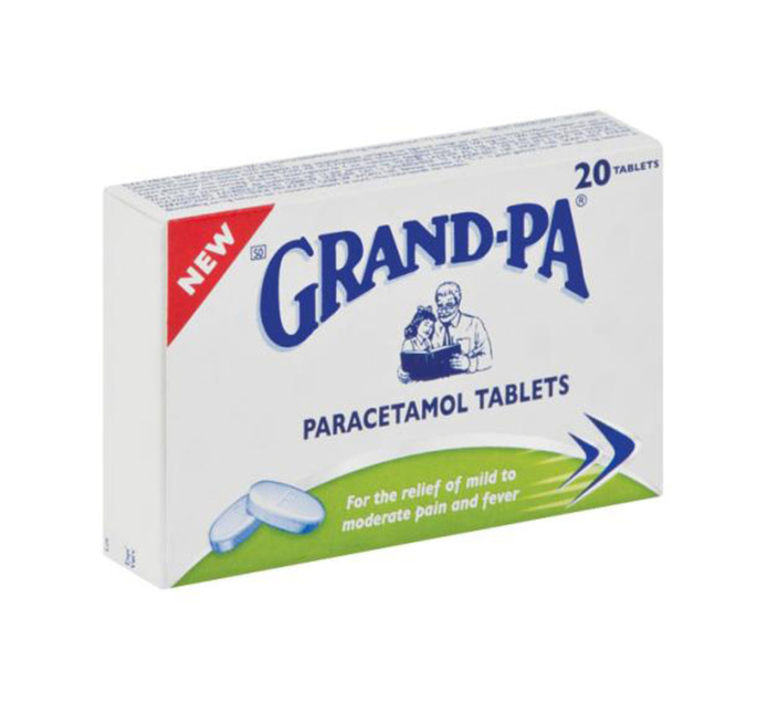 GRANDPA Pain Relief Tablets (1 x 20's)