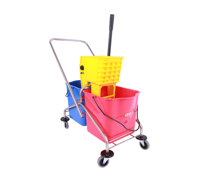 ARO 50l Double Wringer Trolley