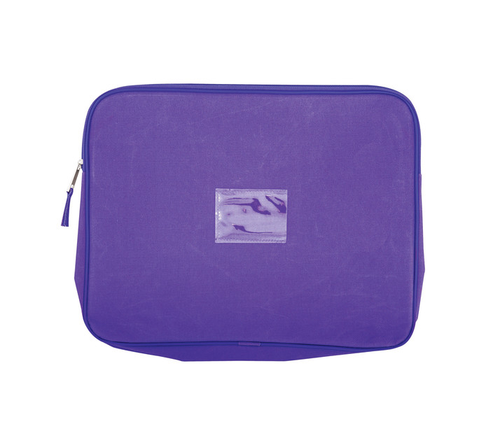 KENZEL A4 Book Bag Without Handle Purple Each