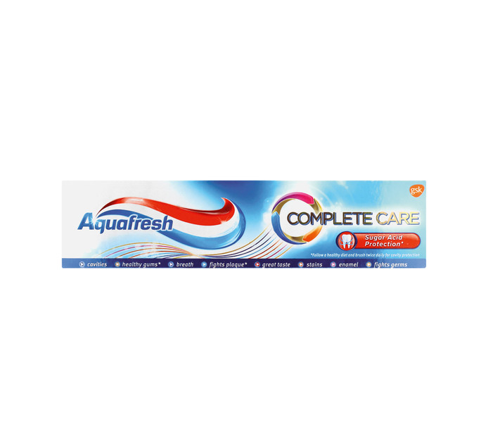 AQUAFRESH 1 x 75ml Toothpaste Complete Care