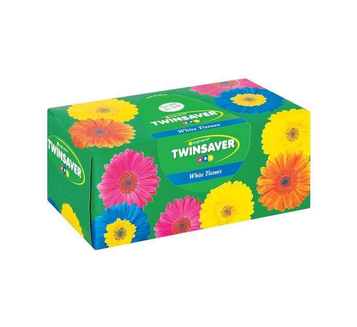 TWINSAVER Facial Tissues White (180's)