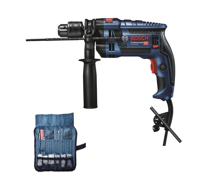 BOSCH 750W Impact Drill With 100 Accessories