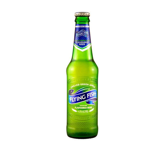 FLYING FISH Chilled Green Apple NRB Flavoured Beer (24 x 330ml)