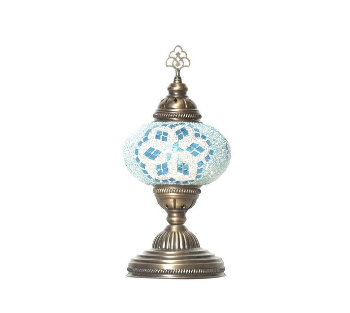Mosaic Table Lamp Turquoise