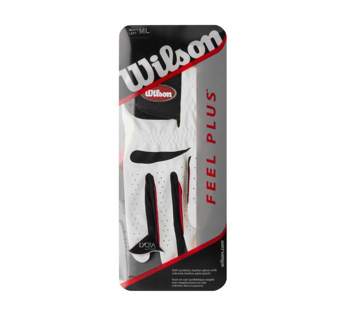 WILSON Medium/large Feel Plus Golf Glove
