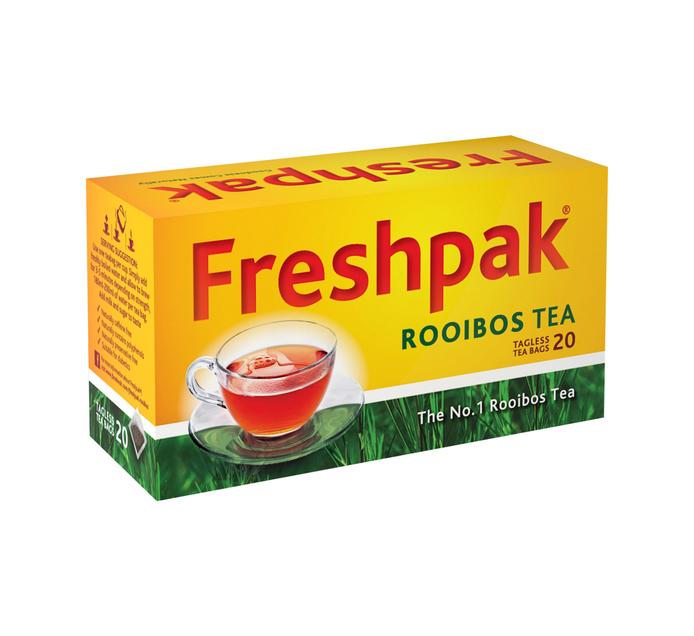 FRESHPAK Rooibos Tagless Teabag (6 x 20's)