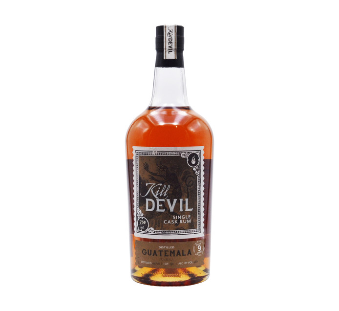 KILL DEVIL Guatemala Single Cask 9YO Rum (1 x 750ml)