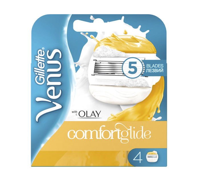 GILLETTE Venus and Olay Cartridge (1 x 4's)