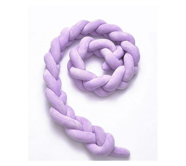 Nuovo - Knot Cot Bumper - Lilac