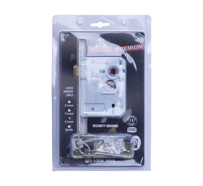MACKIE 4 Lever Security Lock
