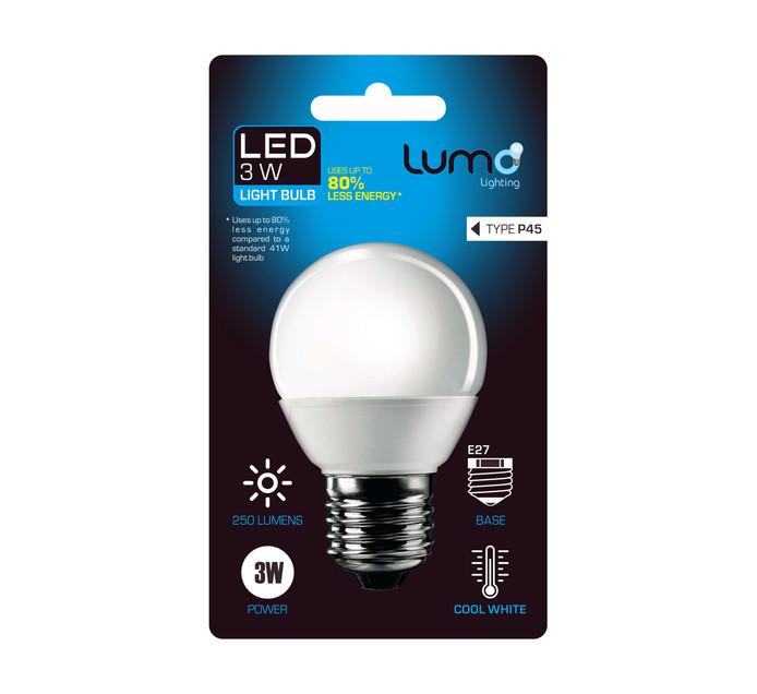 LUMO Lumo LED 3w golfball SES WW