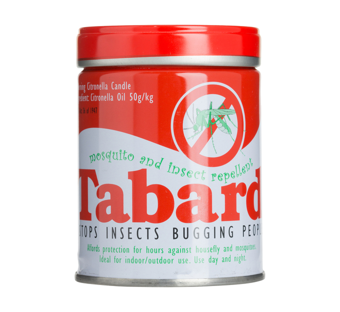 TABARD Citronella Candle (1  x 240g)