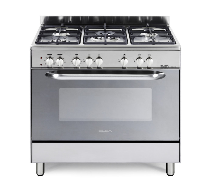 ELBA 900 mm 5-Burner Gas/Electric Stove