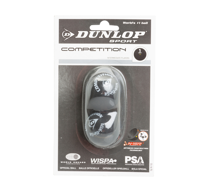 DUNLOP 3 Pack Competition Squash Balls