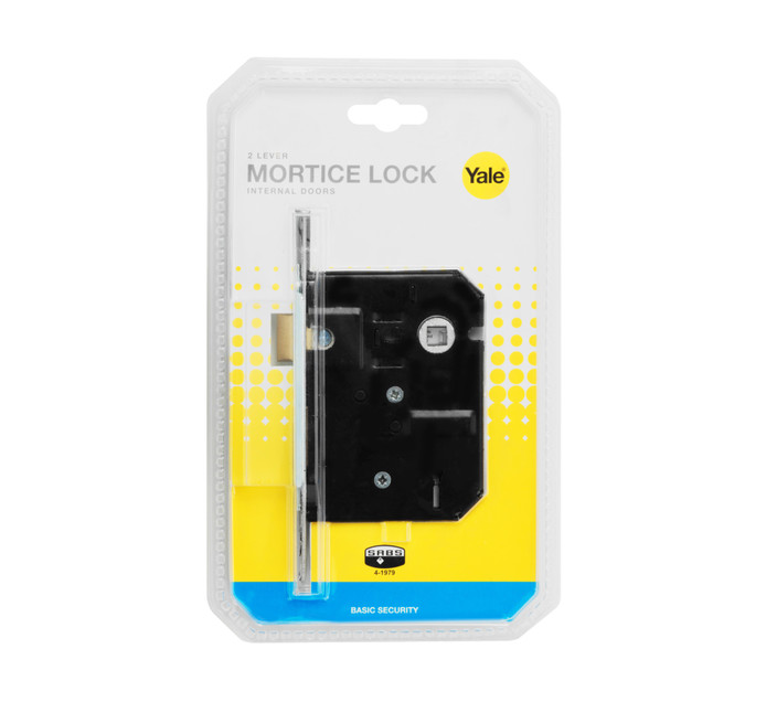 YALE 2 Lever Coated Lock
