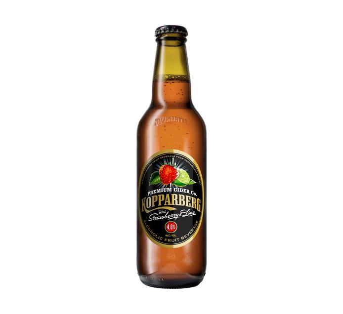 KOPPARBERG Strawberry & Lime Cider NRB (24 x 330ml)