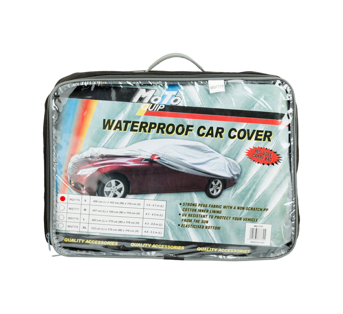 MOTO-QUIP Small Waterproof Car Cover