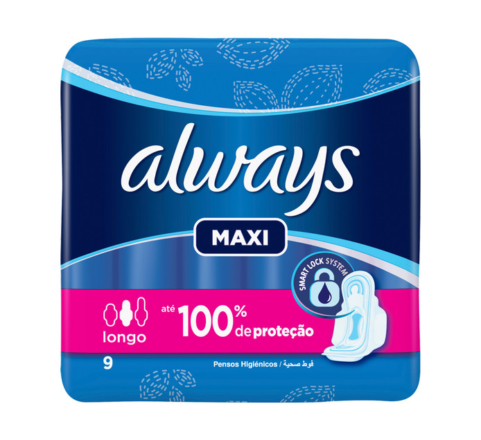 ALWAYS Sanitary Pads All Variants (4 x 9/10's)