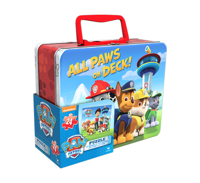 PAW PATROL Paw Patrol  Puzzle In Lunch Tin